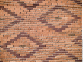 Diamond-patterned-brickwork