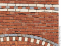 Patterned-brickwork