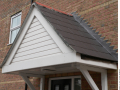 Triangular-porch-roof