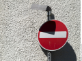 No-entry-traffic-sign