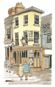 Pub in Market Sq