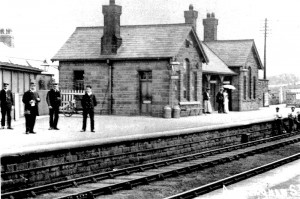 Station looking east. Date uncertain
